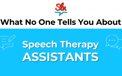 What No One Tells You About Speech Therapy Assistants!