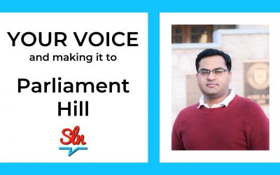 Your Voice and Making it to Parliament Hill.