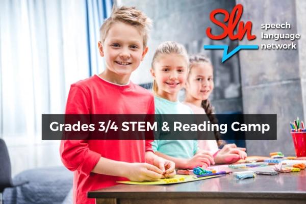 Grades 3,4 STEM & Reading Camp