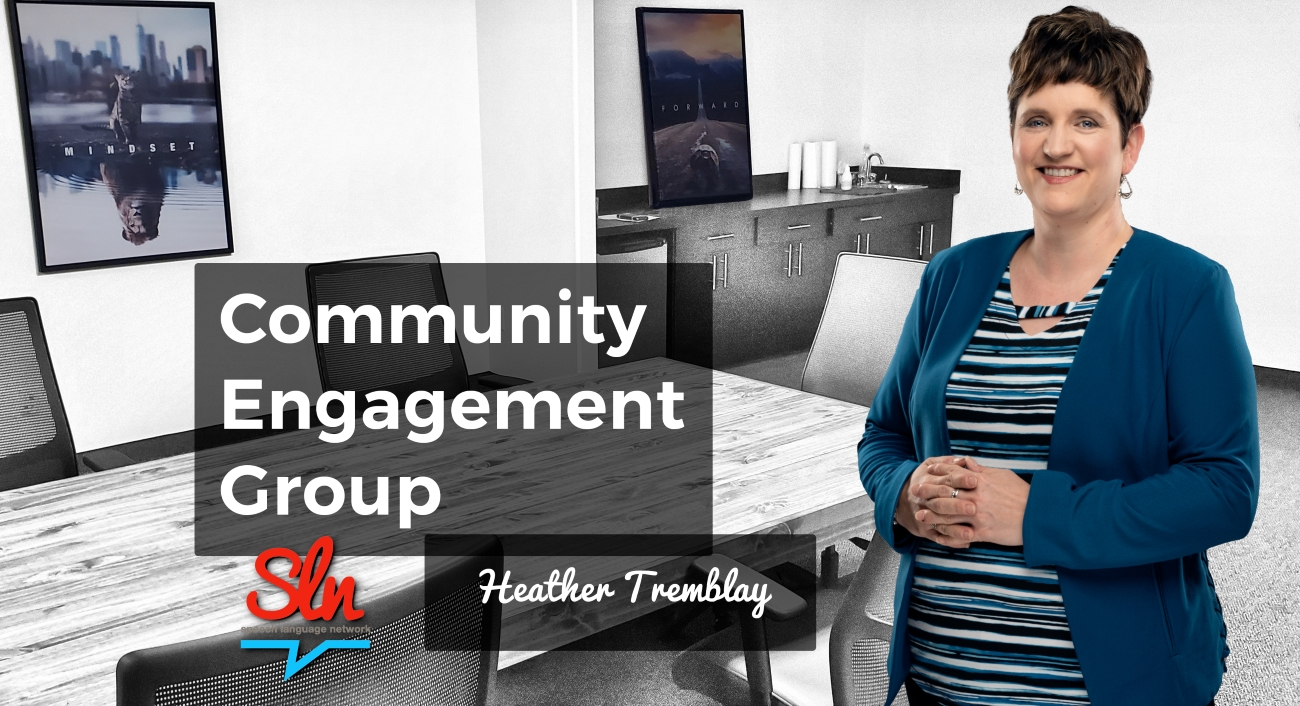Heather, Community Engagement Group, Adult Social Language Connection Groups